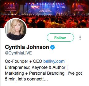 Cynthia Johnson
